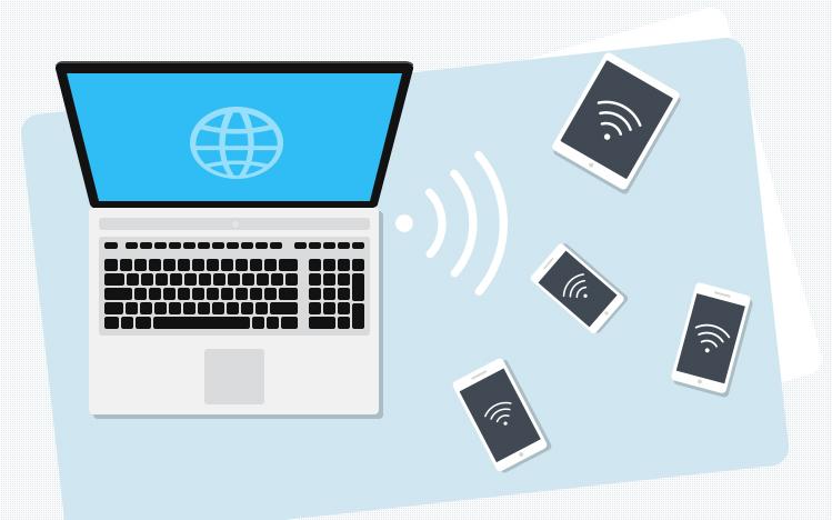 Deepin точка доступа Wi-Fi