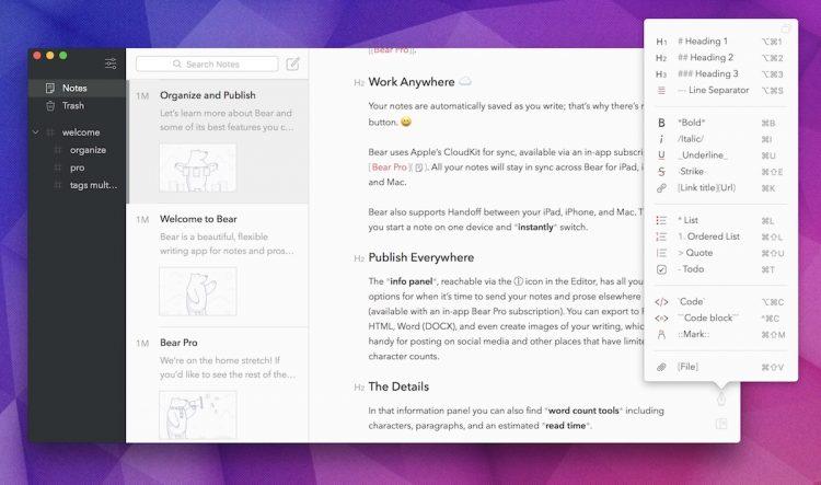 Notes Up - редактор для Linux