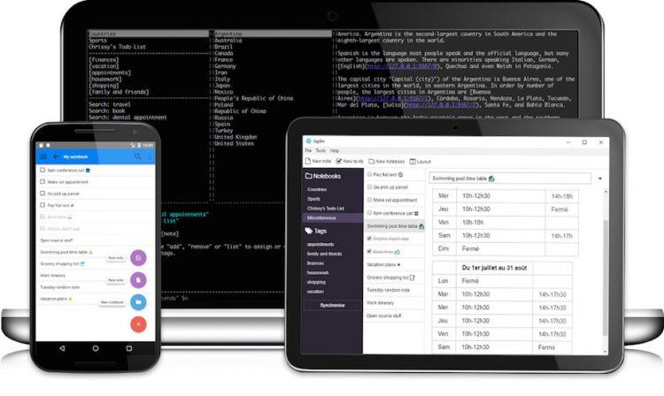 Joplin - бесплатная альтернатива Evernote для Linux