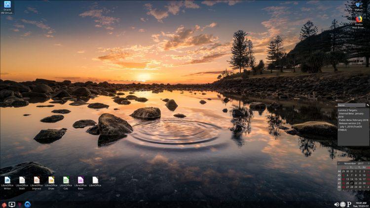 Релиз новой версии Lumina Desktop 1.4.0