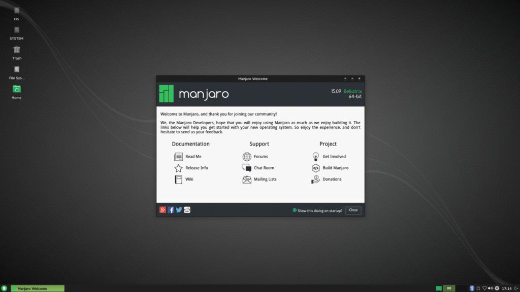 Linux для дома - Manjaro