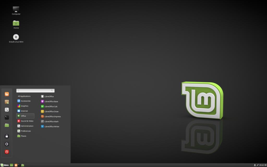 Дистрибутивы Linux для домашнего использования Linux Mint