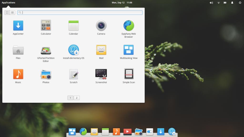 10 лучших дистрибутивов Linux для домашнего пользования Elementary OS