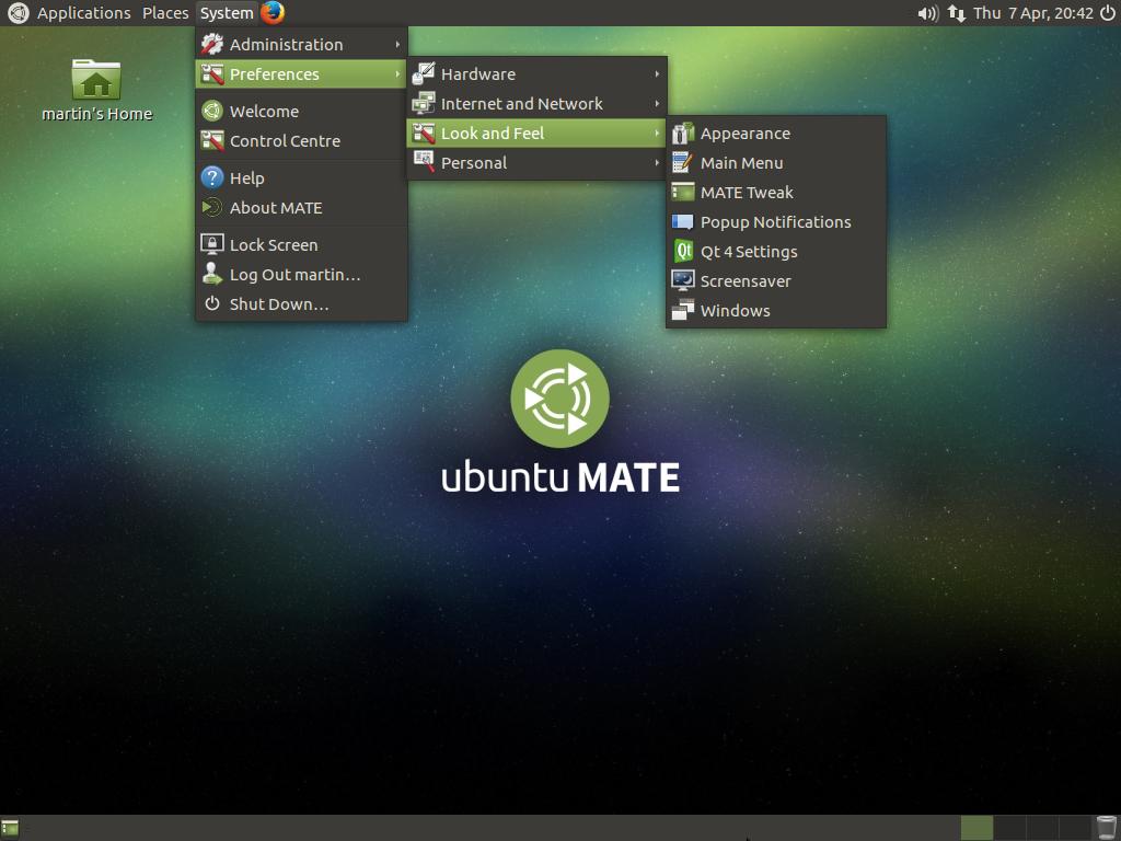 Ubuntu Mate лучший дистрибутив Linux для ноутбука