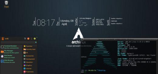 ArchLinux лучший дистрибутив для ноутбука