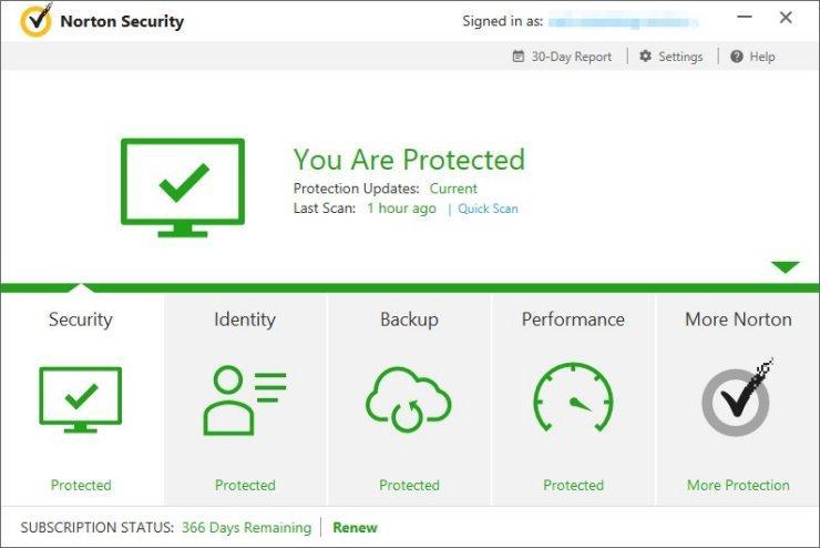 Norton Security Premium в топ 5 лучших антивирусов для Windows