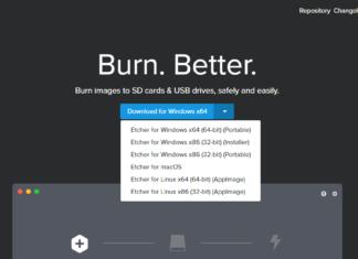 Как записать Linux на флешку с помощью Etcher