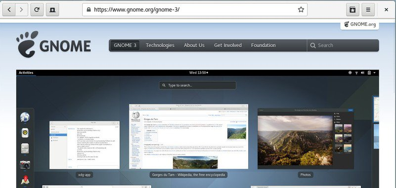 7 OpenSource альтернатив Google Chrome GNOME Web