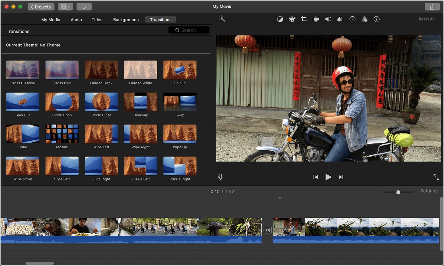 iMovie в топе лучших приложений для MacOS