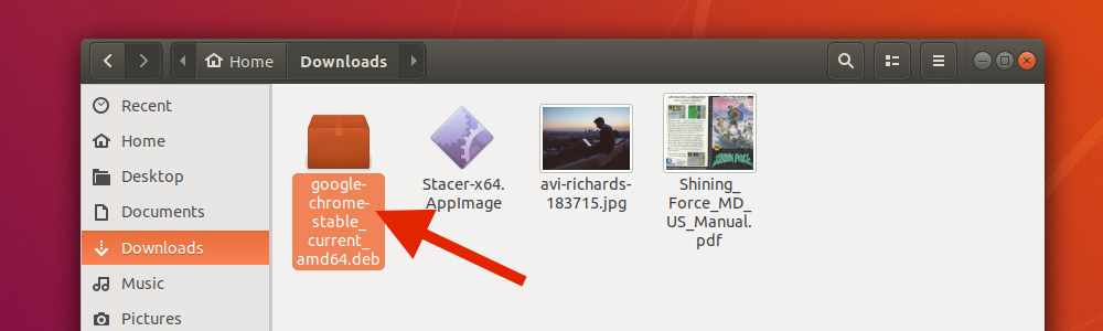 Установка Google Chrome на Ubuntu