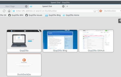 7 браузеров альтернатив Google Chrome - Qupzilla