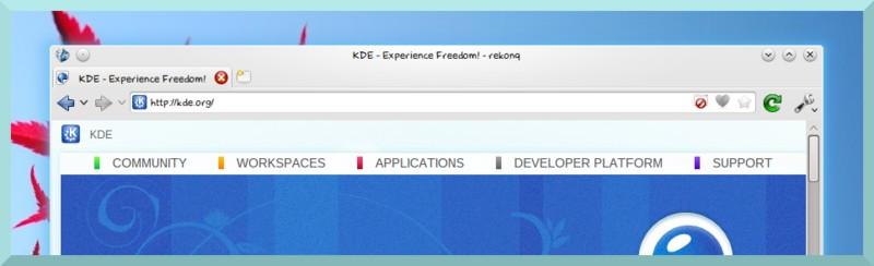 Топ браузеров альтернатив Google Chrome - rekonq