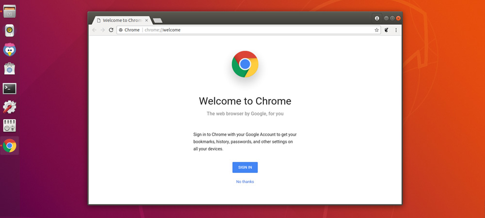 Google Chrome в Ubuntu