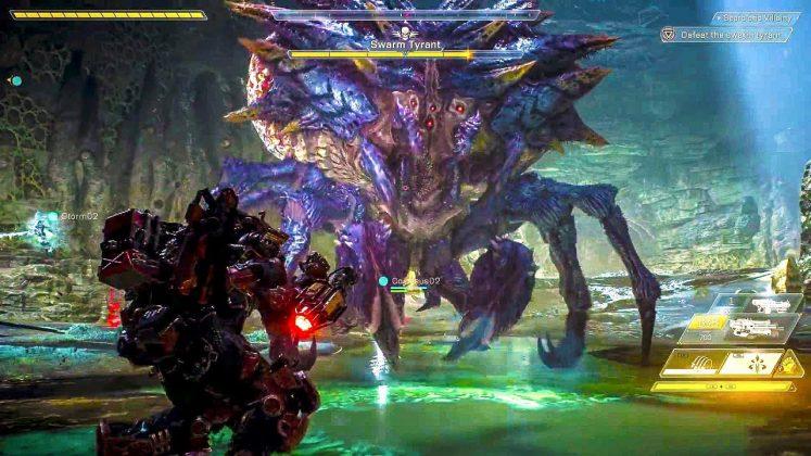 Anthem gameplay