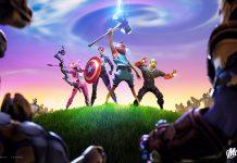 В Fortnite появился временный режим «Мстители: Финал»