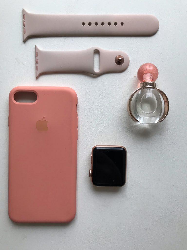 силиконовый ремешок Apple Watch