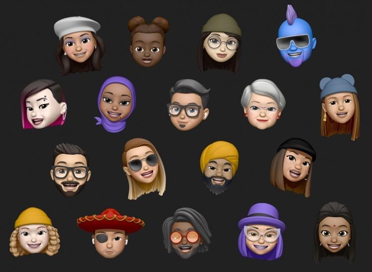 эмодзи  iOS 13