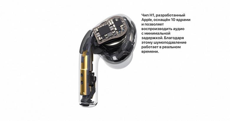 Apple AirPods Pro чип H1