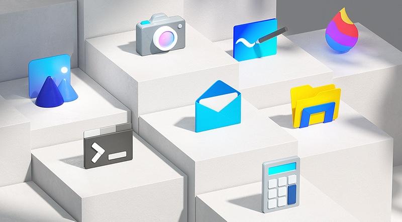 новые иконки Windows 10