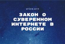 закон о суверенном интернете в России