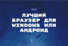 Лучший браузер 2020 года: для windows и андроид